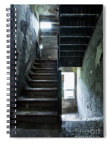 Dark Intervals Spiral Notebook