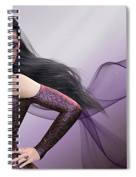 Dark Lady Spiral Notebook