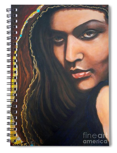 Dark Soulful Latin Eyes          From The Attitude Girls Spiral Notebook