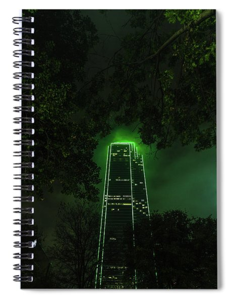 Dark Matter Spiral Notebook