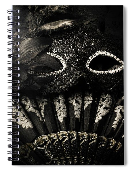 Dark Night Carnival Affair Spiral Notebook