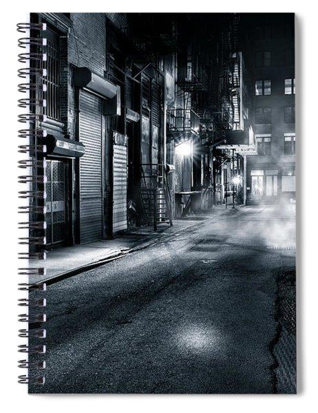 Dark Nyc Spiral Notebook