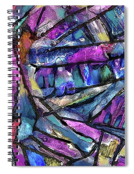 Dark Prism Spiral Notebook