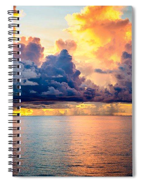 Dark Skies Spiral Notebook