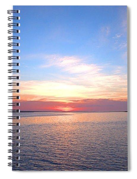 Dark Sunrise I I Spiral Notebook