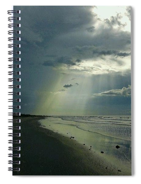 Dark To Enlightened Spiral Notebook