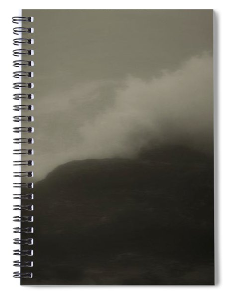 Dark Waves Spiral Notebook