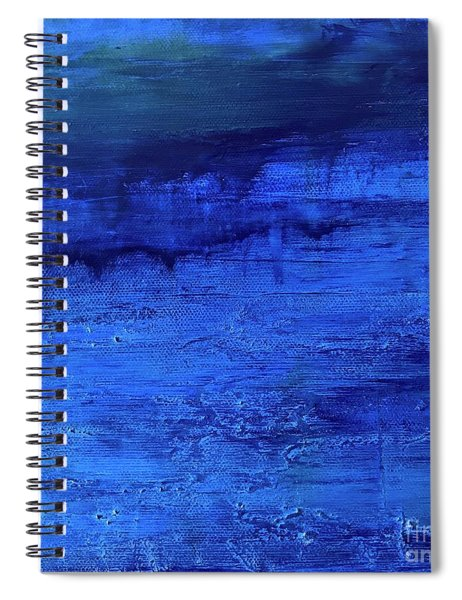 Darkness Descending Spiral Notebook