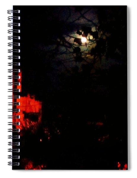 Darkness Spiral Notebook