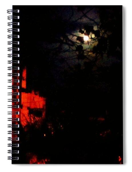 Darkness Spiral Notebook