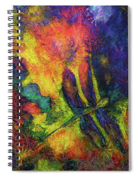 Darling Darker Dragonfly Spiral Notebook