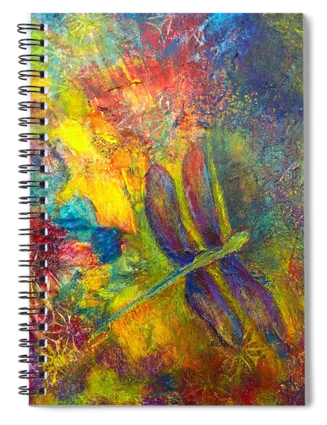 Darling Dragonfly Spiral Notebook