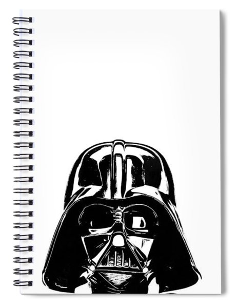 Darth Vader Painting Spiral Notebook