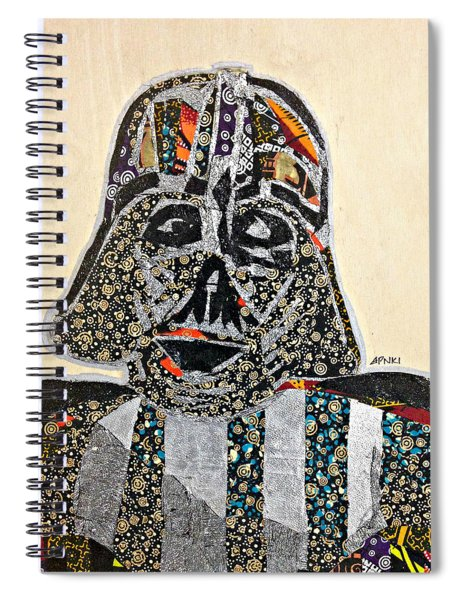 Darth Vader Star Wars Afrofuturist Collection Spiral Notebook