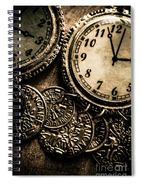 Dated Antiquities Spiral Notebook
