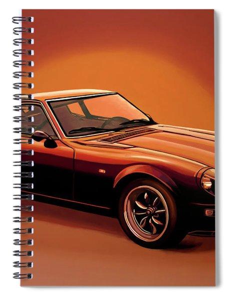 Datsun 240z 1970 Painting Spiral Notebook