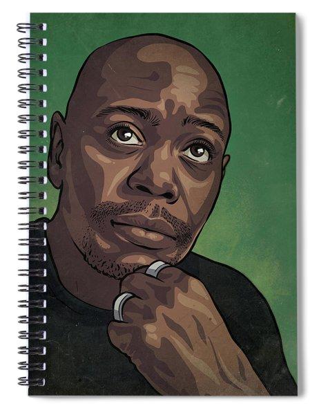Dave Chappelle Spiral Notebook