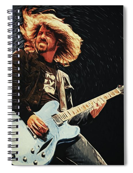 Dave Grohl Spiral Notebook