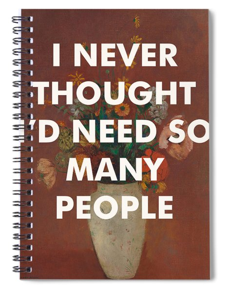 David Bowie Art Print                                    Spiral Notebook