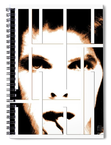 David Bowie / Changeling  Spiral Notebook