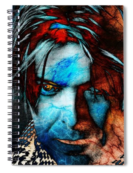 David Bowie / Keep Your 'lectric Eye On Me, Babe Spiral Notebook
