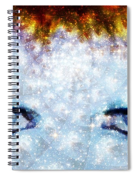 David Bowie / Stardust Spiral Notebook