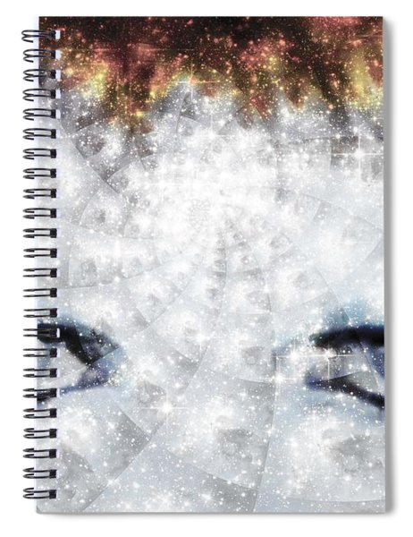 David Bowie / Stardust / Muted Colors  Spiral Notebook