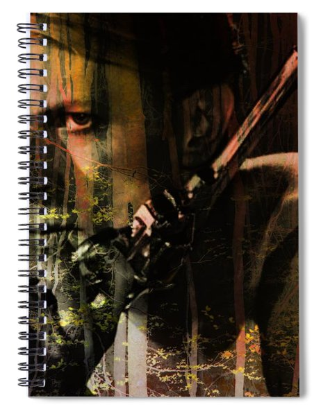 David Bowie / The Man Who Fell To Earth  Spiral Notebook