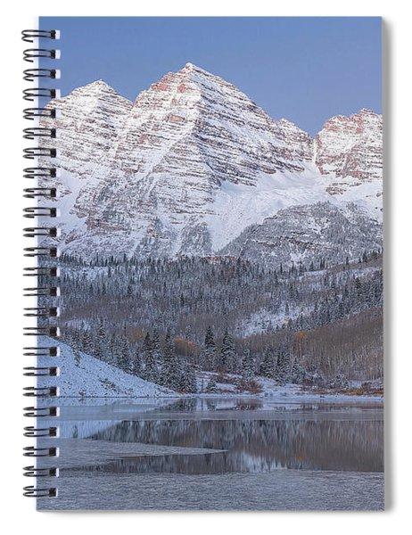 Dawn At Maroon Bells 2 Spiral Notebook