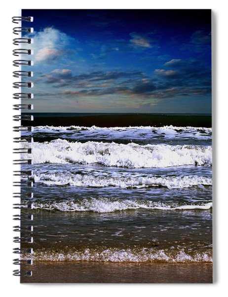 Dawn Of A New Day Seascape C2 Spiral Notebook