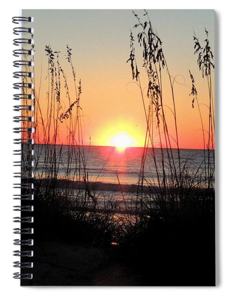 Dawn Of The Eclipse Spiral Notebook