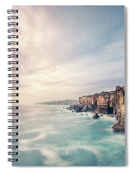 Dawn Of The Night Spiral Notebook
