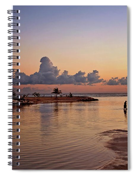 Dawn Reflection Spiral Notebook