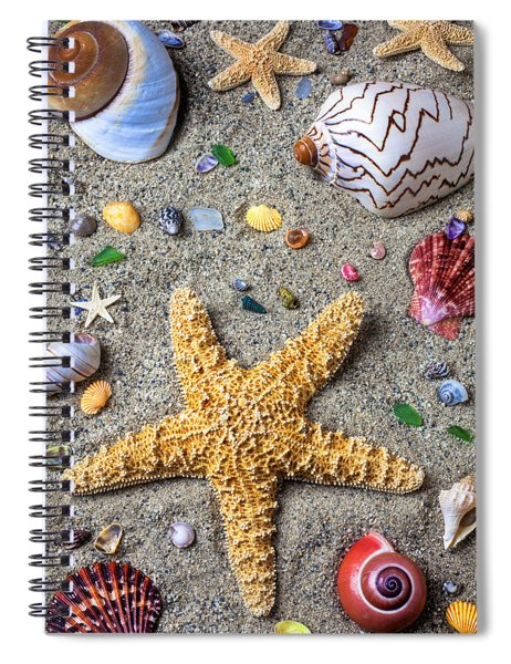 Day At The Beach Spiral Notebook