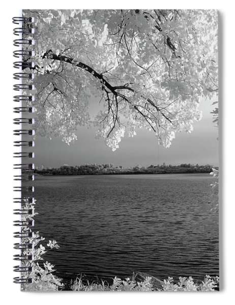Day At The Lake Spiral Notebook