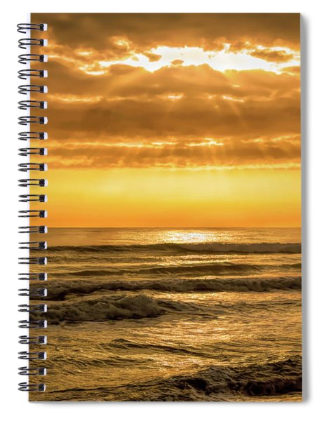 Day Is Come Spiral Notebook