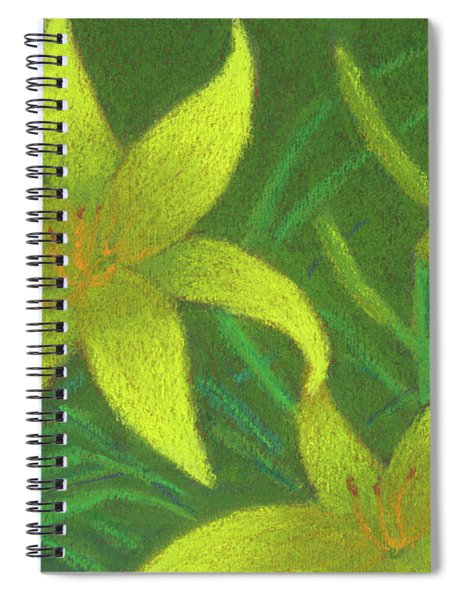 Day Lilies Spiral Notebook
