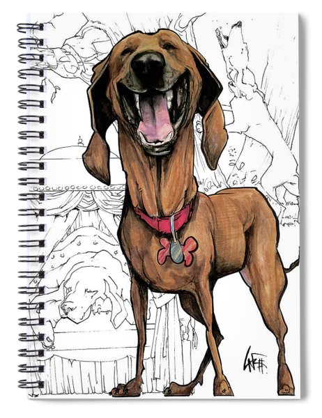 Day / Night Hound Spiral Notebook