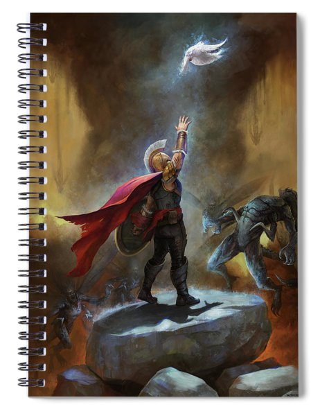 Day Of Reckoning Spiral Notebook