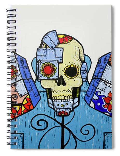 Day Of The Dead 2.0 Spiral Notebook