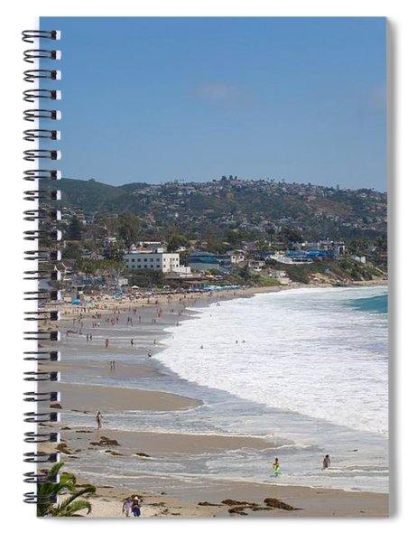 Day On The Beach Spiral Notebook