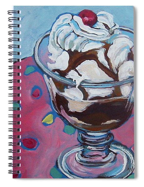 Day Two Sundae Spiral Notebook