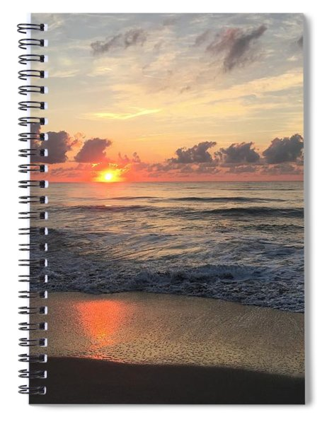 Daybreak At Cocoa Beach Spiral Notebook