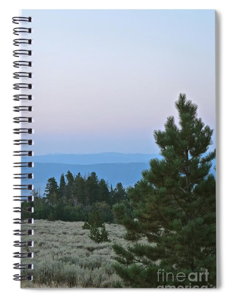 Daybreak On The Mountain Spiral Notebook