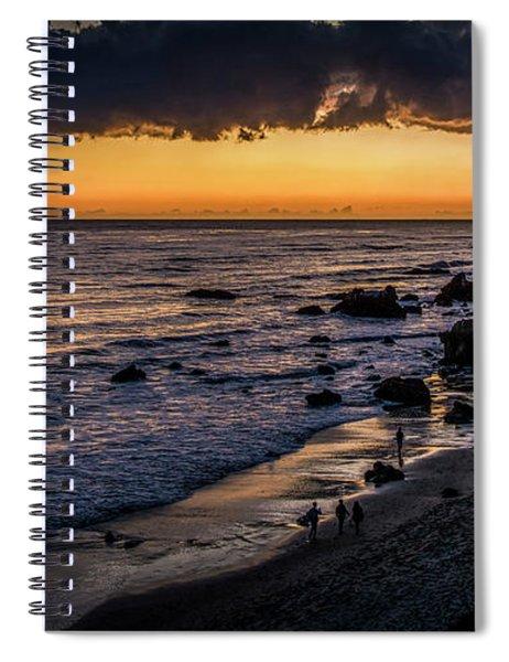 Days End At El Matador Spiral Notebook