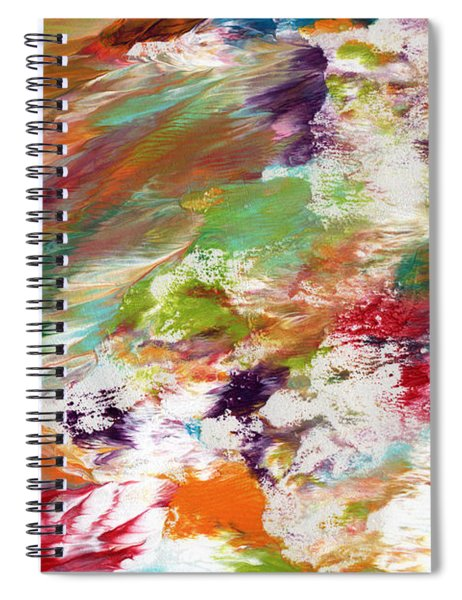 Days Gone By- Abstract Art By Linda Woods Spiral Notebook