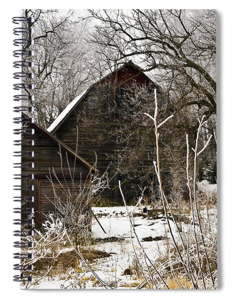 Spiral Notebook featuring the photograph Days Gone Bye by Edward Peterson