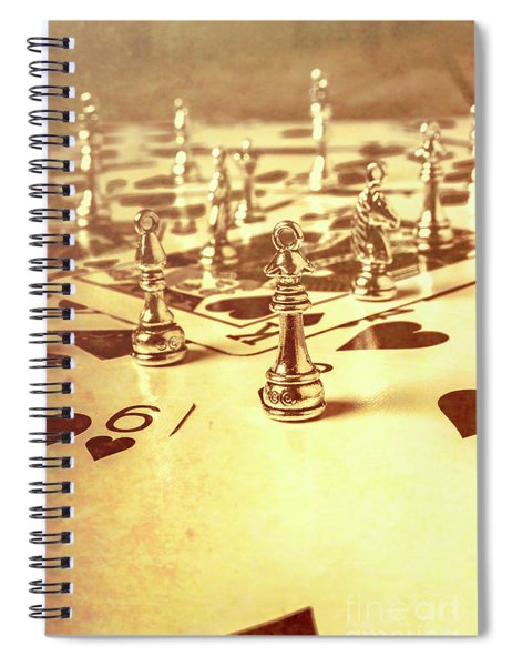 Days Of Old Game Play Spiral Notebook
