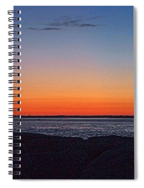 Days Pre Dawn Spiral Notebook