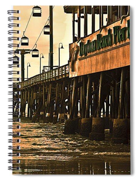 Daytona Beach Pier Spiral Notebook